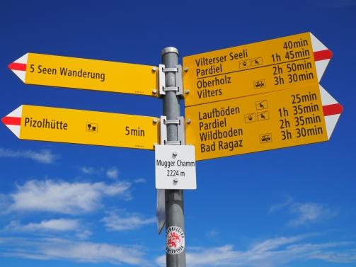 5-Seen-Wanderung - Start