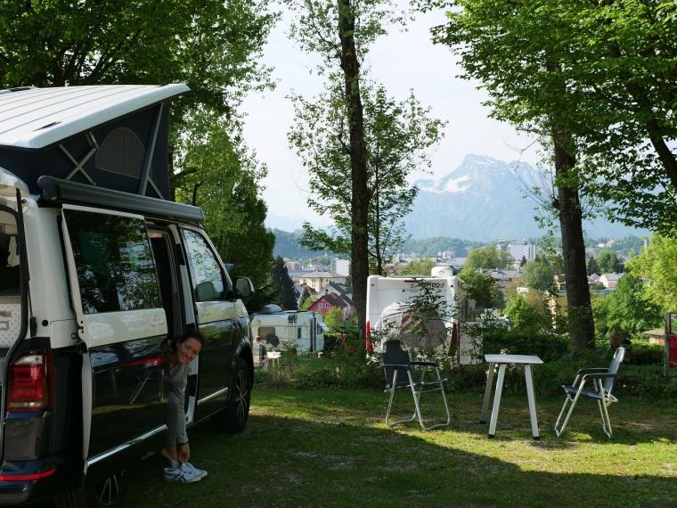 Panorama Camping Salzburg