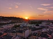 Sonnenuntergang Kapuzinerberg