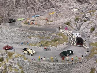 Miniatur Wunderland Bergrennen Schweiz