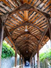 Kirchtreppe zum Schloss Thun