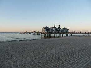 Sellin Seebrücke Abendstimmung