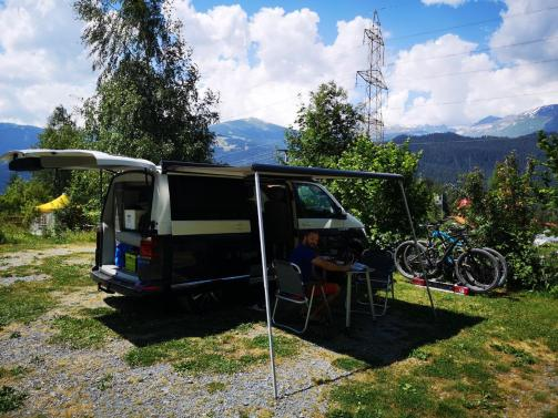 Camping Carrera Parzelle