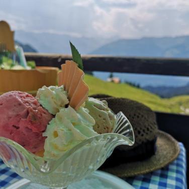 Dessert am Berghaus Palfries