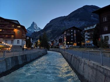 Zermatt am Abend