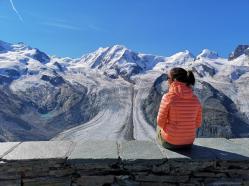 Monte-Rose-Gletscher
