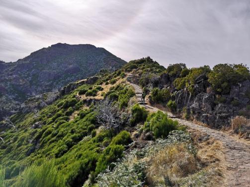 Pico Ruivo Aufstieg
