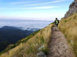 Pico Ruivo Wanderweg